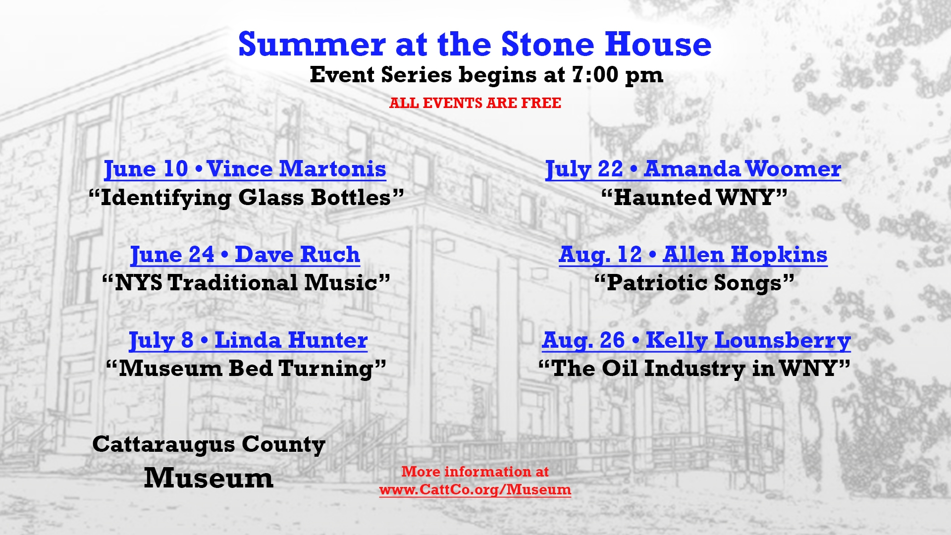 Summer at the Stone House