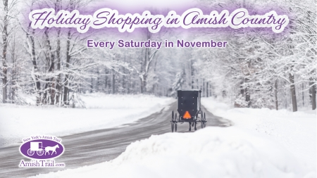 Holiday Shopping in Amish Country